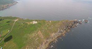 Estaca de Bares a vista de dron
