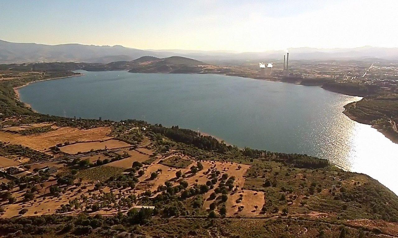 Virgen de La Peña. Mirador de El Bierzo a vista de dron