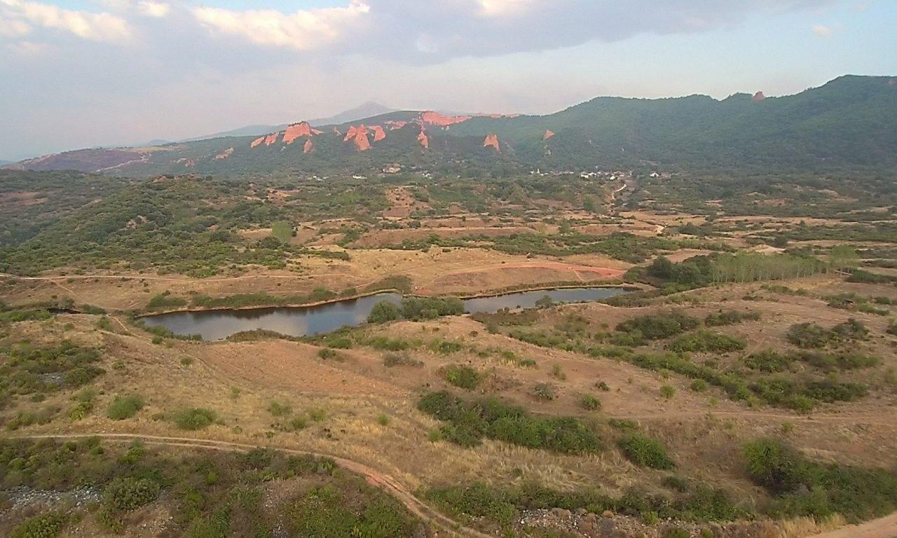 Lago Somido a vista de dron